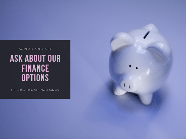 Finance Options - Spreading The Cost of Your Dentistry